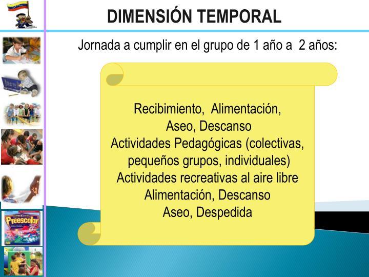 DIMENSIÓN TEMPORAL