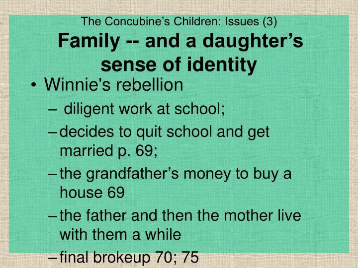 Winnie's rebellion