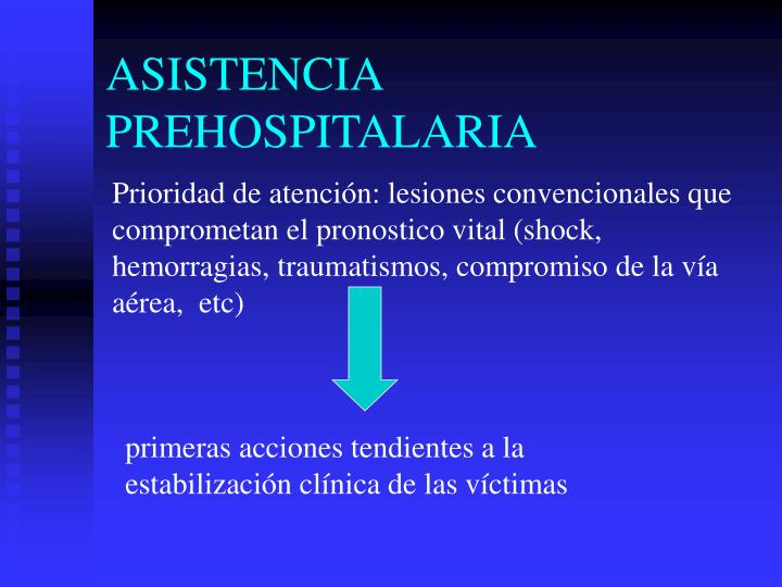 ASISTENCIA PREHOSPITALARIA