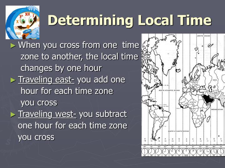 Determining Local Time