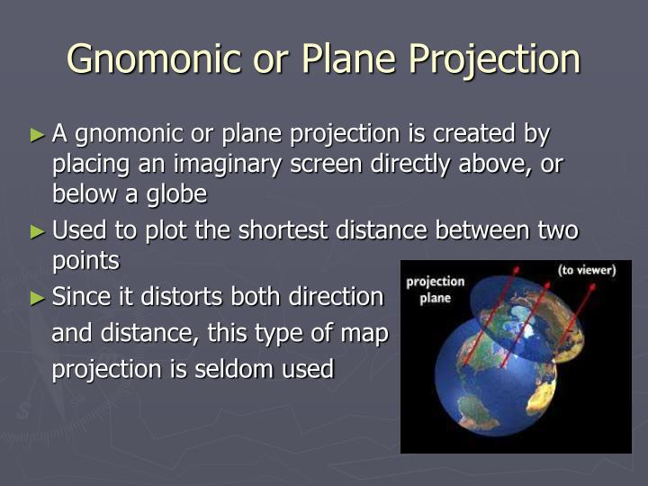 Gnomonic or Plane Projection
