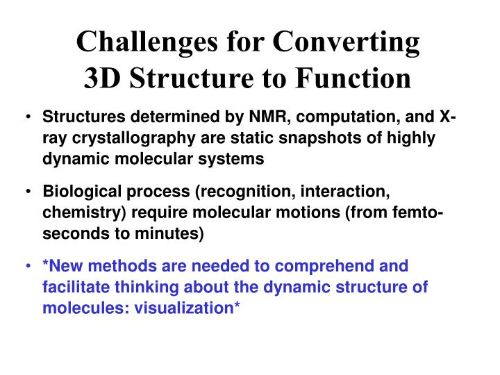 Challenges for Converting