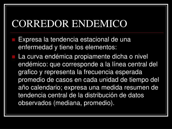 CORREDOR ENDEMICO