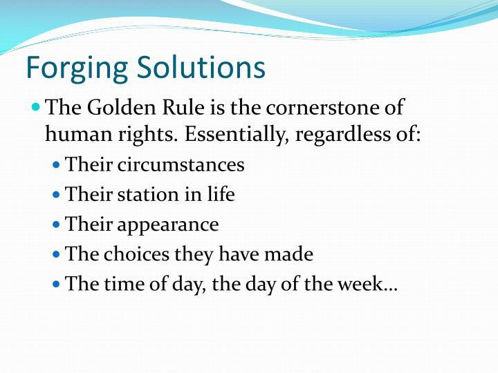 Forging Solutions