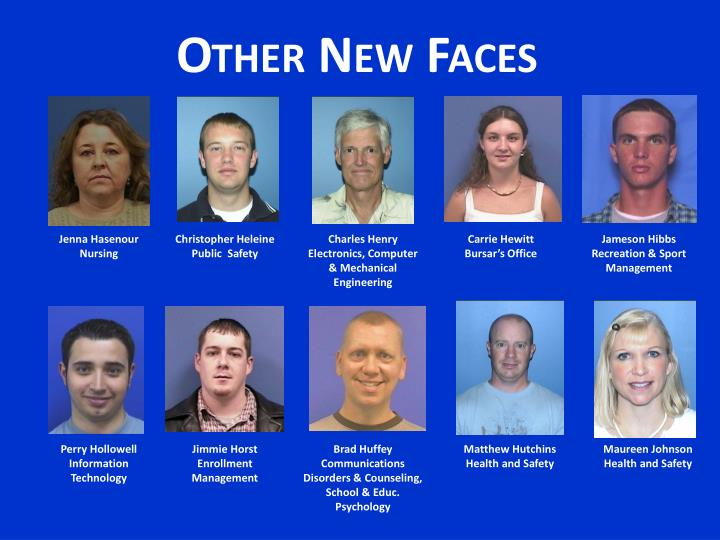 Other New Faces