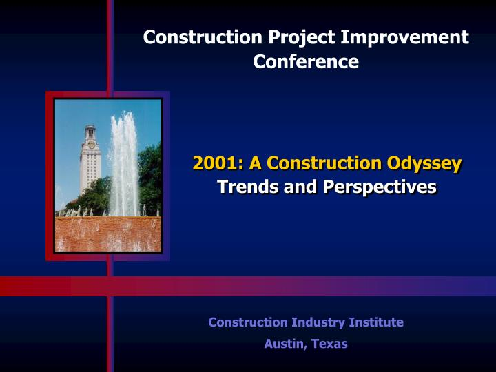 Construction Project Improvement Conference
