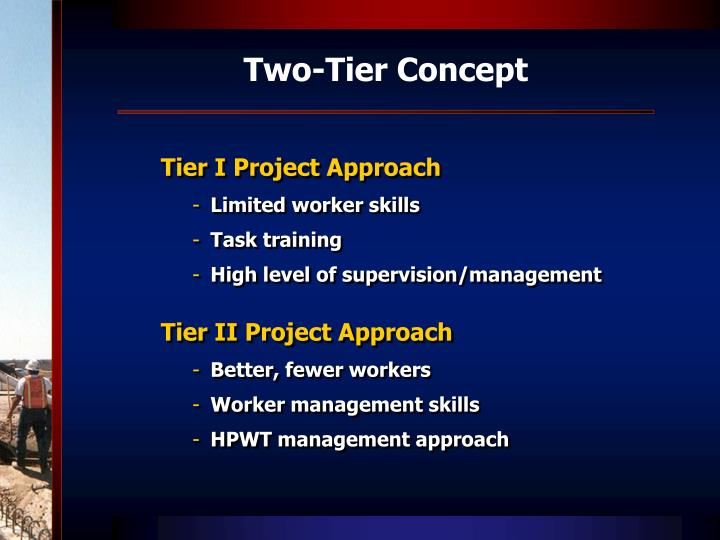 Two-Tier Concept