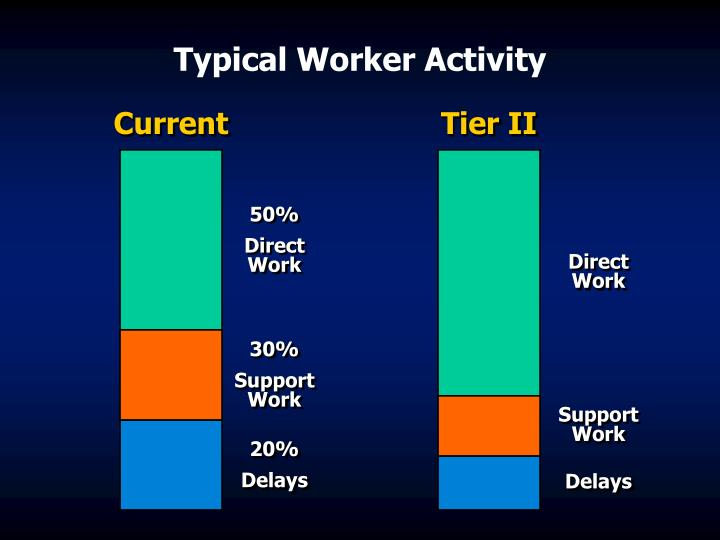 Typical Worker Activity