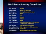 work force steering committee