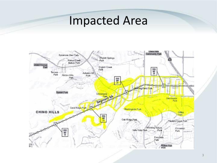 Impacted Area