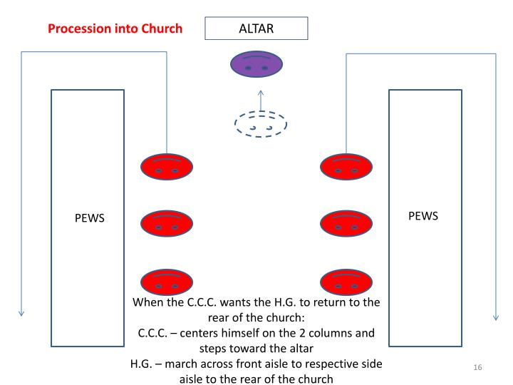 Procession into Church