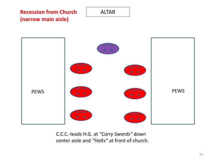 Recession from Church