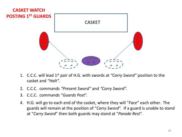CASKET WATCH