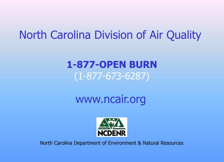 North Carolina Division of Air Quality