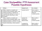 case study mike ptr assessment possible hypotheses