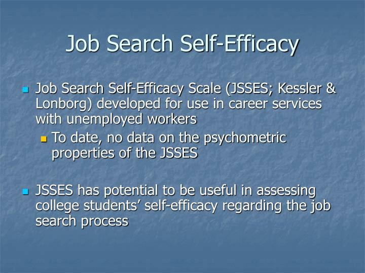 Job Search Self-Efficacy