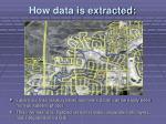 how data is extracted