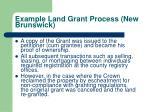example land grant process new brunswick3