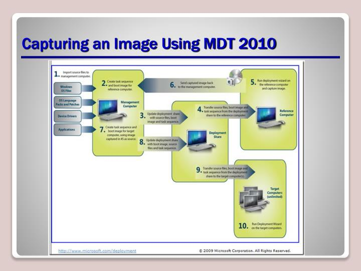 Capturing an Image Using MDT 2010