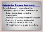 understanding enterprise deployments