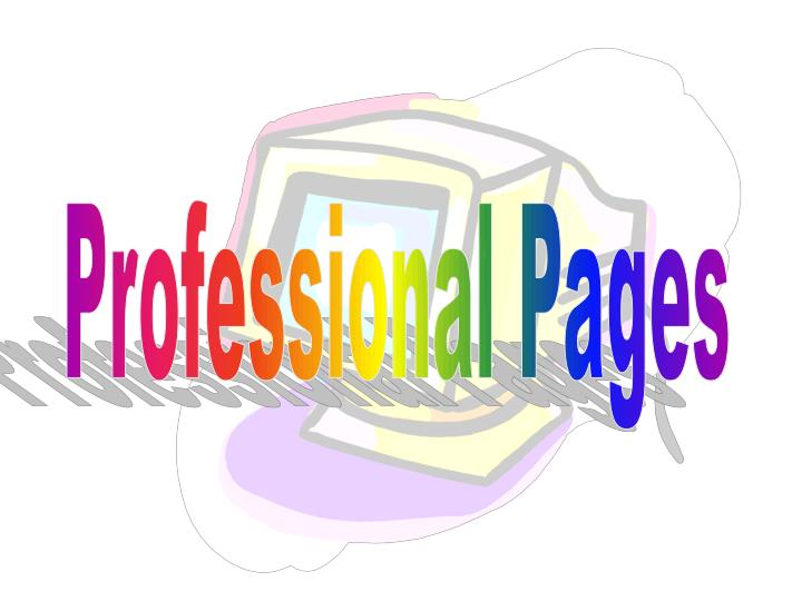 Professional Pages