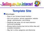 template site