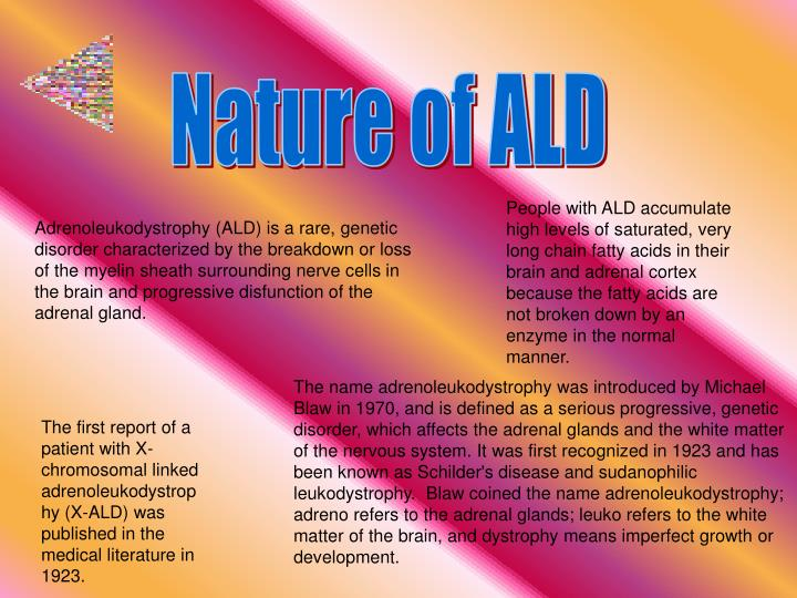 Nature of ALD