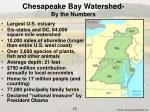 chesapeake bay watershed by the numbers