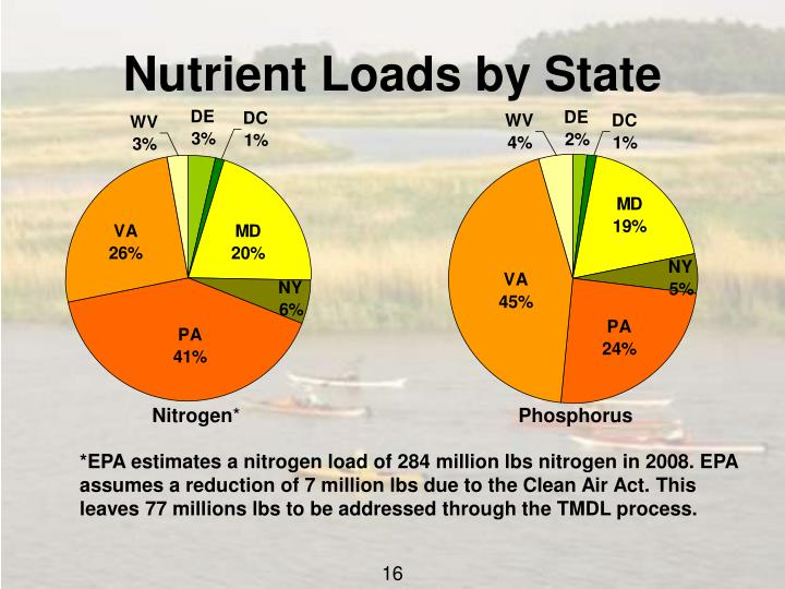 Nutrient Loads by State