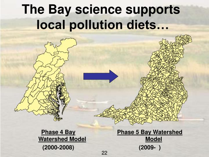 The Bay science supports