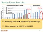 results power reduction