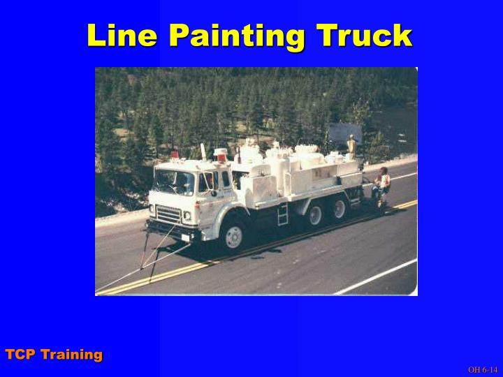 Line Painting Truck
