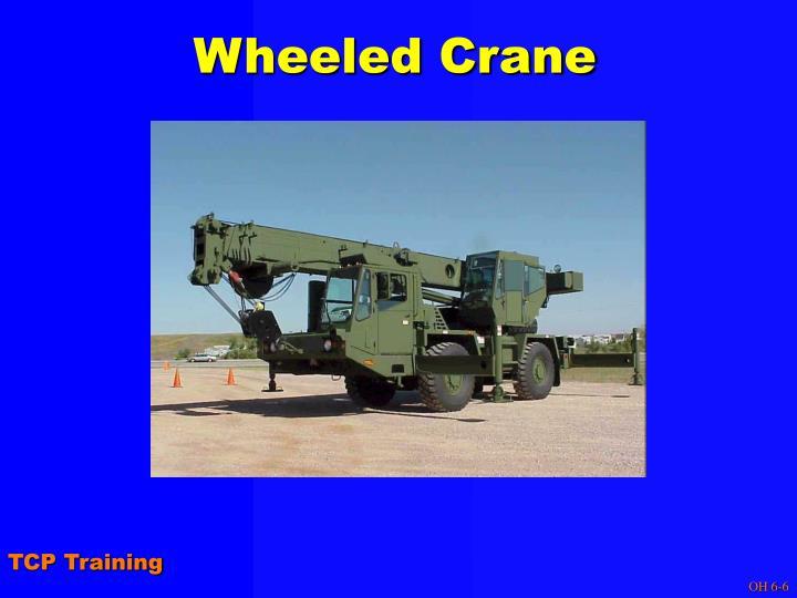Wheeled Crane