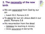 2 the necessity of the new birth