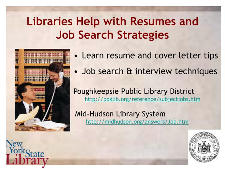 Libraries Help with Resumes and