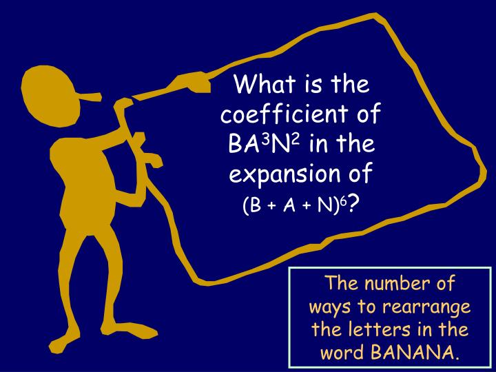 What is the coefficient of BA