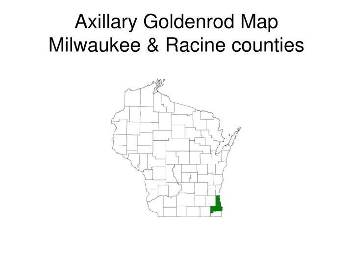 Axillary Goldenrod Map