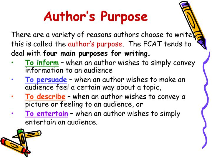 Author s purpose1
