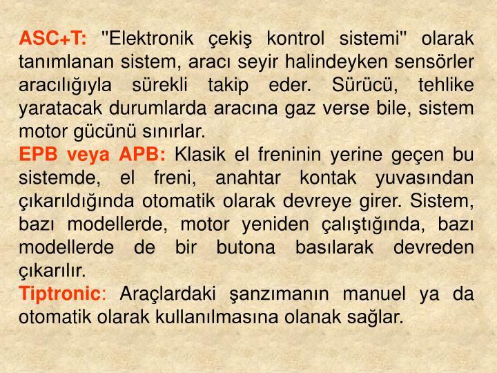 ASC+T: