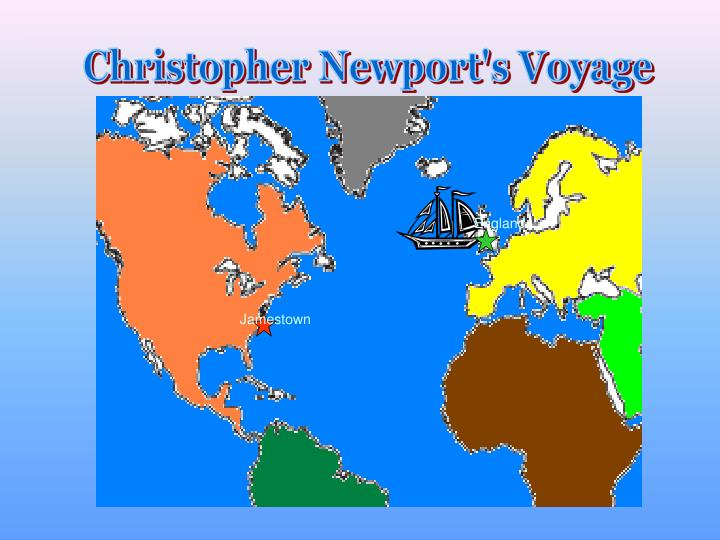 Christopher Newport's Voyage