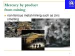 mercury by product from mining