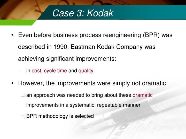 Case 3: Kodak