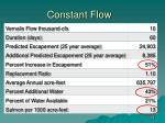 constant flow1