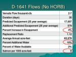 d 1641 flows no horb