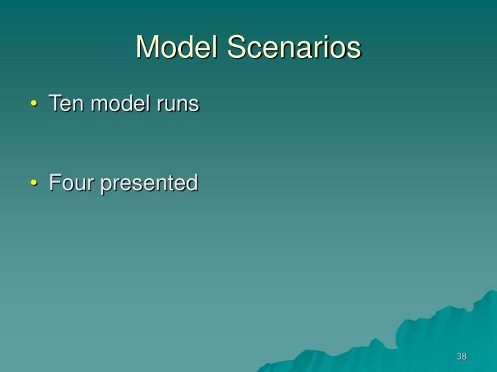 Model Scenarios