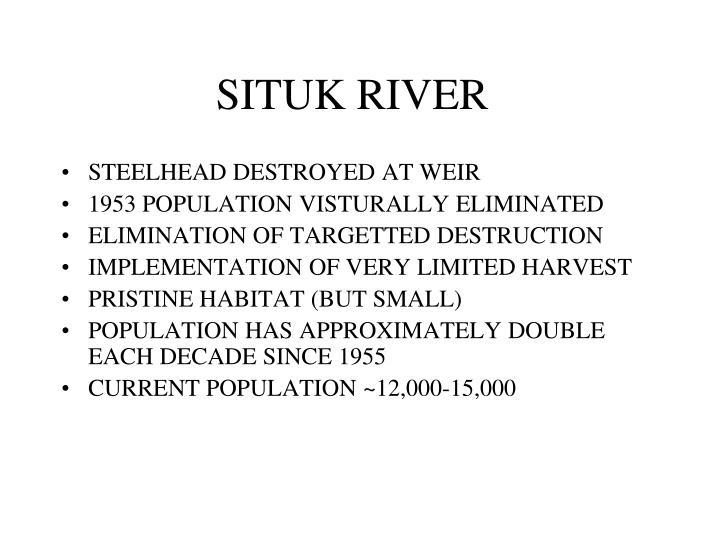 SITUK RIVER