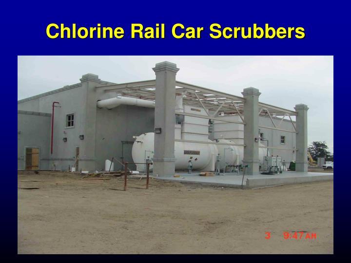 Chlorine Rail Car Scrubbers