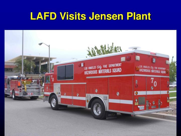 LAFD Visits Jensen Plant