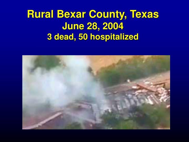 Rural Bexar County, Texas