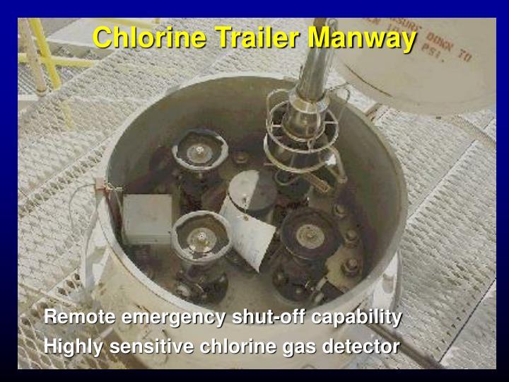 Chlorine Trailer Manway